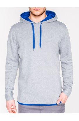 Толстовка мужская CAMILO - Серый/голубой