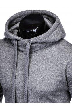 Толстовка мужская T873 - темно - серый