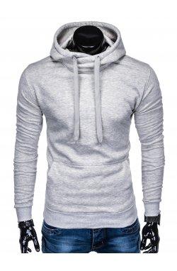Толстовка мужская T873 - серый