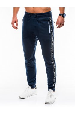 MEN'S SWEATPANTS P744 - синий