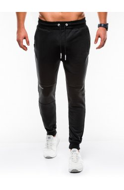 MEN'S SWEATPANTS P745 - черный