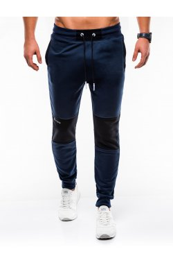 MEN'S SWEATPANTS P745 - синий
