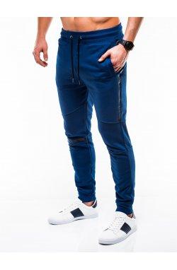 MEN'S SWEATPANTS P743 - темно - голубой