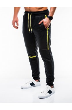 MEN'S SWEATPANTS P743 - черный