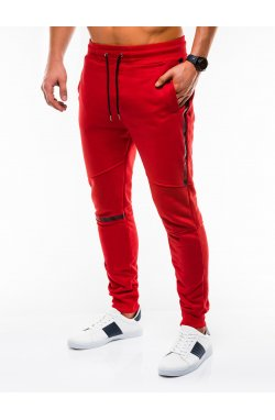MEN'S SWEATPANTS P743 - красный