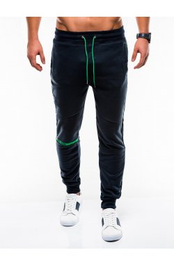 MEN'S SWEATPANTS P743 - синий
