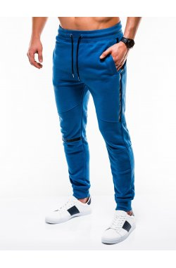 MEN'S SWEATPANTS P743 - голубой