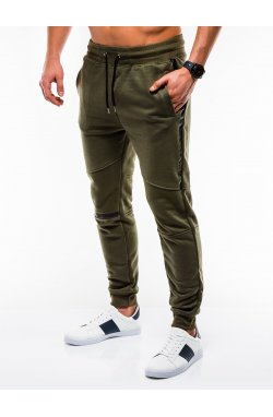 MEN'S SWEATPANTS P743 - OLIVE