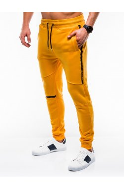 MEN'S SWEATPANTS P743 - желтый