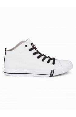 MEN'S HIGH-TOP TRAINERS T304 - Белый
