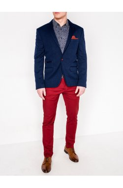 Пиджак мужской кежуал P93 - синий