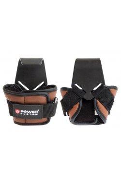 Крюки для тяги на запястья Power System Hooks PS-3300 Brown