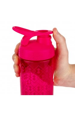 Спортивная бутылка-шейкер BlenderBottle SportMixer Signature Sleek PINK GEO ACE 820мл (ORIGINAL)
