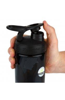 Спортивная бутылка-шейкер BlenderBottle SportMixer Signature Sleek BLACK SHATTERED SLATE 820мл (ORIGINA