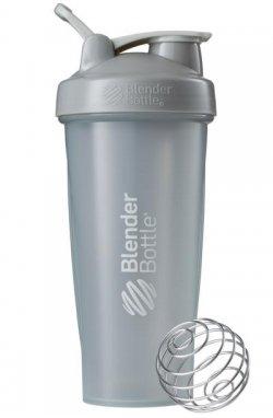 Спортивный шейкер BlenderBottle Classic oop 820ml Grey (ORIGINAL)