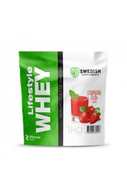 Swedish supplements - LS Whey Protein - 1kg Stawberry Slush