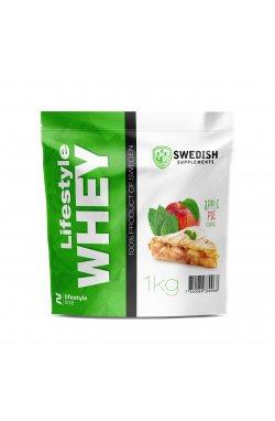 Swedish supplements - LS Whey Protein - 1kg Apple Ple