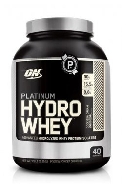 ON Platinum Hydrowhey GF 1590 г - клубника