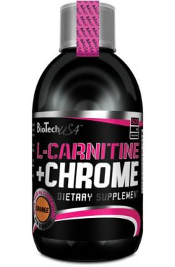 BT L-CARNITINE+CHROME 500мл - апельсин