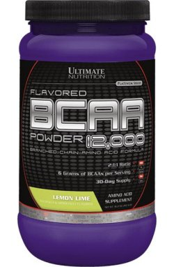 UltN BCAA powder 457 g - lemon lime - NEW!