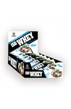 Swedish supplements - Iso Whey Bar 15x60 - coconut