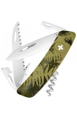 Нож складной, мультитул Swiza С05 (95мм, 12 функций), хаки KNI.0050.2050
