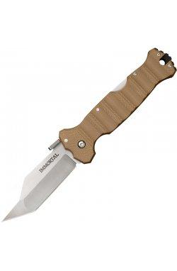 Нож складной Cold Steel Immortal (длина: 229мм, лезвие: 102мм), tan