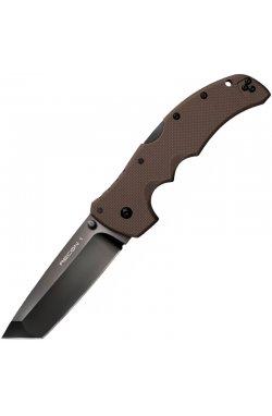 Нож складной Cold Steel Recon 1 Tanto Point (длина: 238мм, лезвие: 102мм), коричневый