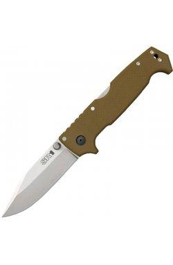 Нож складной Cold Steel SR1 (длина: 238мм, лезвие: 102мм), tan