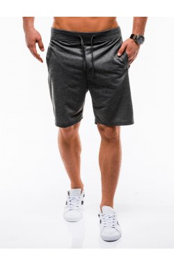 Шорты мужские W136 - темно - серый