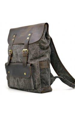 Молодежный рюкзак микс парусины и кожи RGj-9001-4lx TARWA