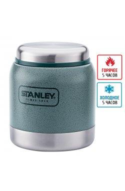 Термос-банка для еды Stanley Adventure (0.29л), зеленая