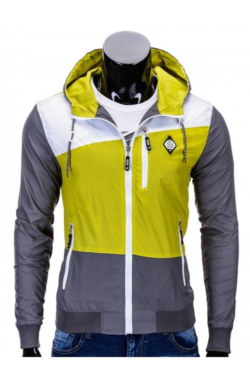 Куртка мужская K201 - зеленый