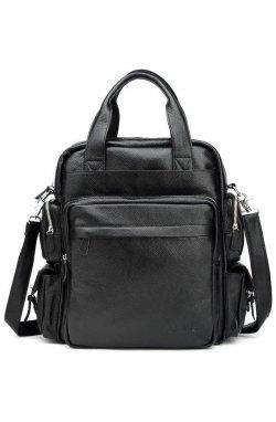 Стильная сумка-рюкзак из кожи Tiding t3069