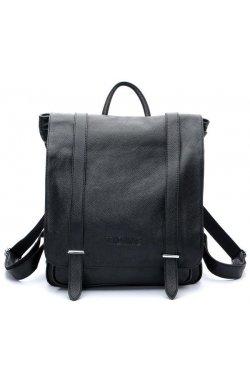 Рюкзак кожаный с клапаном Tiding 3057