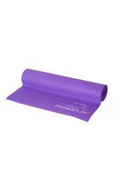 Коврик для фитнеса и йоги PowerPlay 4011 (173*61*0.6) Фіолетовий