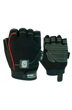 Перчатки для фитнеса PowerPlay 1566 Черные