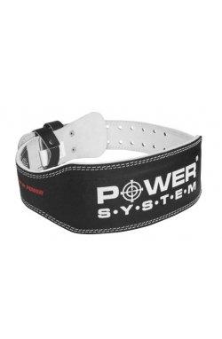 Пояс для тяжелой атлетики Power System Basic PS-3250 Black