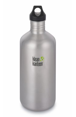 Фляга Klean Kanteen Classic Brushed tainless 1900 ml