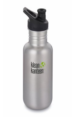 Фляга Klean Kanteen Classic port Cap Brushed tainless 532 ml