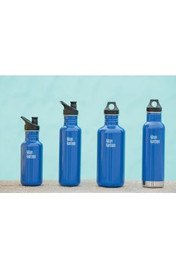 Фляга Klean Kanteen Classic port Cap Coastal Waters 800 ml