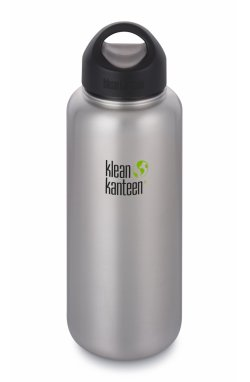 Фляга Klean Kanteen Wide Brushed tainless 1182 ml