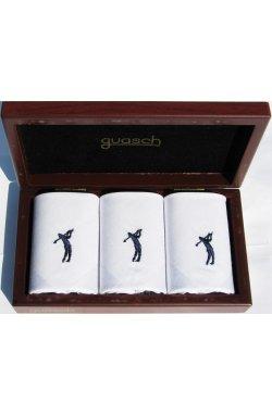 Комплект мужских носовых платков Guasch Art box 50 PESCA