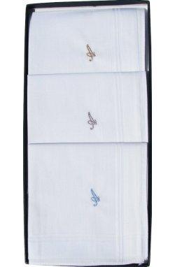 Комплект мужских носовых платков Guasch Inicial A