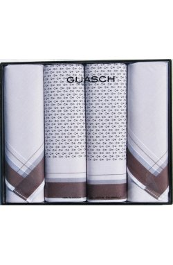 Комплект мужских носовых платков Guasch Zeus 95 SU1-02