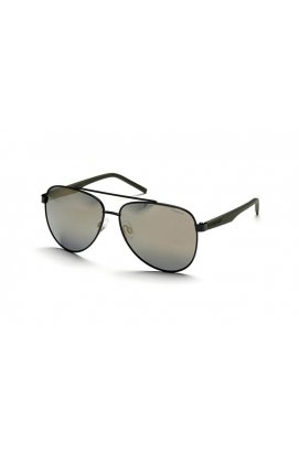 Мужские солнцезащитные очки Polaroid PLD2043-003-LM - авиаторы, Цвет линз - серый