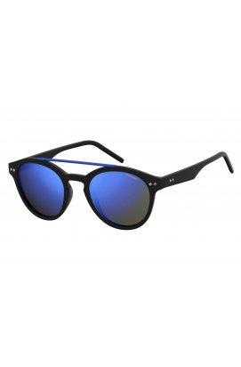 Солнцезащитные очки Polaroid PLD6030-003-5X - круглые, Цвет линз - серый