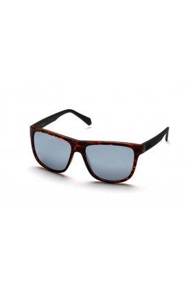 Мужские солнцезащитные очки Polaroid PLD2057-N9P-EX - wayfarer, Цвет линз - серый