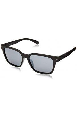 Солнцезащитные очки Polaroid PLD6044-807-EX - wayfarer, Цвет линз - серый
