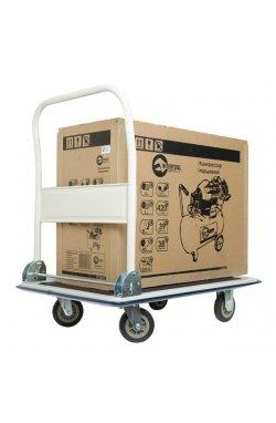 Тележка ручная четырех колесная до 250 кг, 910*610*870, колеса 125 мм INTERTOOL LT-9054